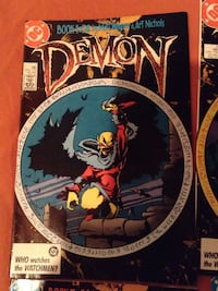 Dc demon comics 4 in total Thunder Bay, P7A 7S6
