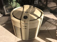 white duracraft round poor table hepa air cleaner South Pasadena, 91030