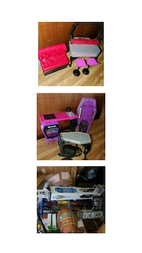 Storage clean out of hudge monster high set  Little Rock