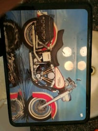 red and white cruiser motorcycle printed box Welland, L3B 5N5