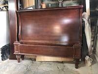 brown wooden headboard and footboard Dover, 07801