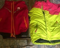 two red and green zip-up jackets Upper Marlboro, 20774