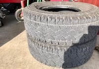 2-265-75-16 tires in good condition as it shows on the pics Bedford, 44146