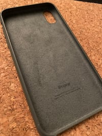 Dark Olive iPhone X Silicon Case  Vancouver, V5Z 3H3