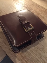 Stylish Brown CD Case with 20+ CDs Leeds