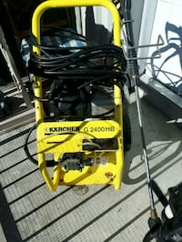 yellow and black Karcher pressure washer null