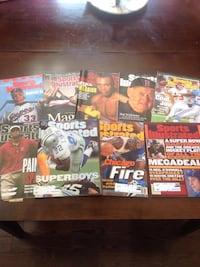 More than 40 Sports Illustrated magazines. $20 for the lot. London, N6C