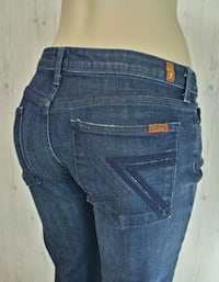 7 For All Mankind FLYNT Womens Size 31/33 Maple Ridge