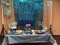 Baby shower stuff mermaid theme