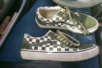 Olive green size 8 Van's womens  Frederick, 21703