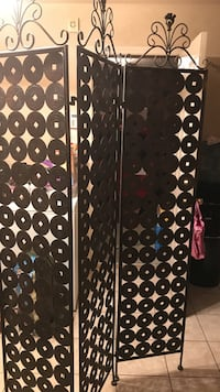Korean room divider. Metal. Firm price Killeen, 76542