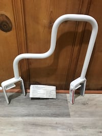 New Tub safety bar clamps to side of tub