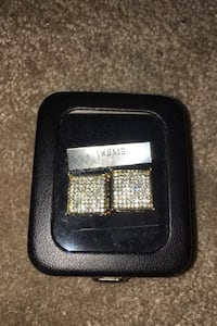 Cubic zirconia square earrings  Anchorage, 99577