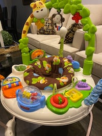 Baby jumping chair