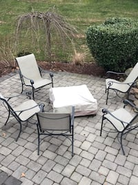 Patio Furniture 8 chairs, fire pit and tables Ashburn, 20147