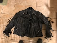Men's Harley Davidson leather fringed jacket Midlothian, 60445
