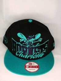 black and green hornets Charlotte New Era 9Fifty snapback