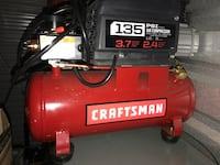 135 PSI red and black Craftsman air compressor Shelby Township, 48316