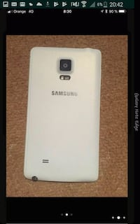 blanco Samsung Galaxy Note 4 5982 km