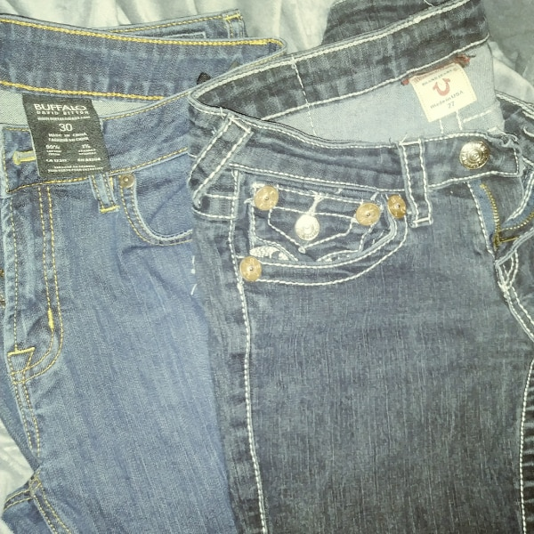 True religion  Buffalo jeans
