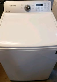 white top-load clothes washer samsung  Phoenix, 85019