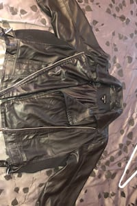 faux leather bomber (3x) Baltimore, 21206