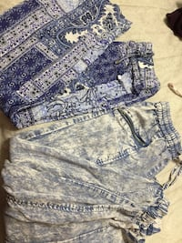 gray and blue floral print shorts Des Moines, 50315