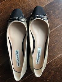 Beautiful never worn Karl Lagerfeld flats Mississauga, L5B 0C7