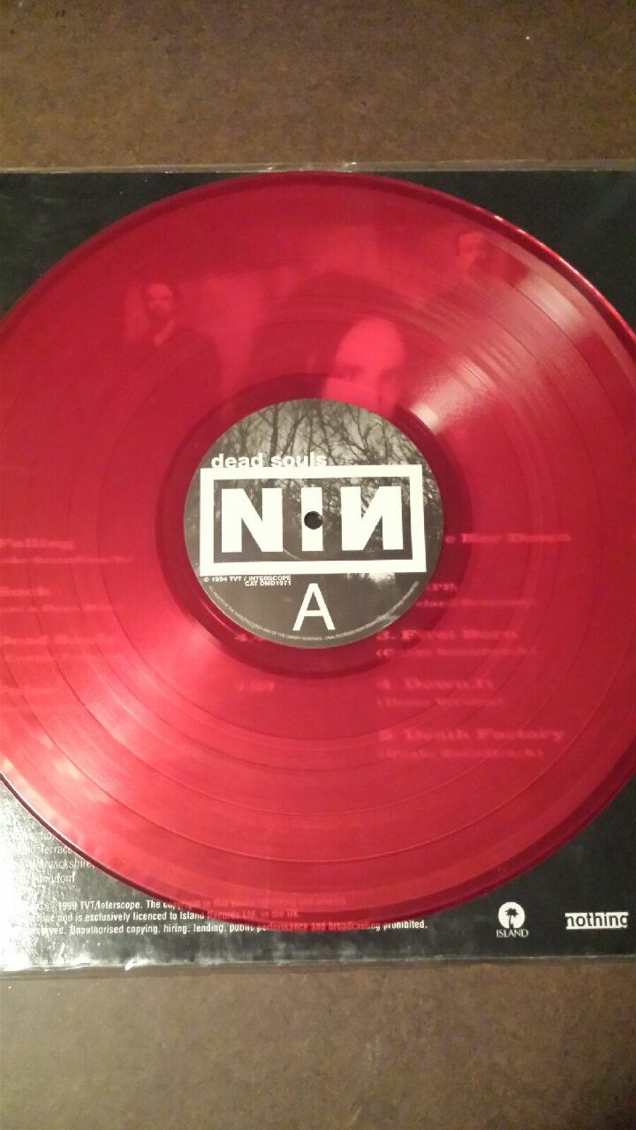Used NINE INCH NAILS. DEAD SOULS VINYL 12 INCH RED in Lakeland - letgo