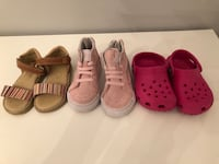 Toddler size 5 lot of shoes for $50 Brampton, L6X 2K9