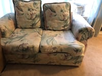 Floral Love Seat COLUMBIA