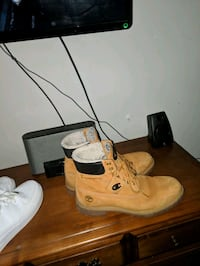Champion x timberland & nike air force ones London, N6H 1W3