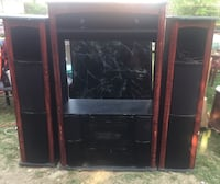 Entertainment System with music and speakers. Just add TV