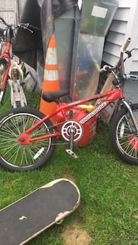 red and black Mongoose BMX bike Washington, 20024