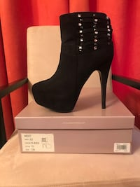 Sexy Bakers- Black Booties Size 7.5