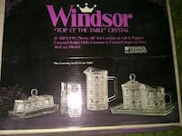 Windsor crystal set Turlock, 95380