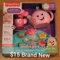 Fisher-Price learning toy in box Marne, 49435