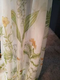 4 new 72in long sheer curtains  Gainesville, 30506