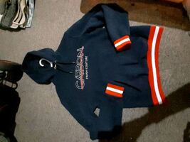 Carbon hoodie size small mens