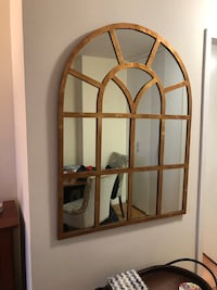 distressed gold framed mirror New York, 10128