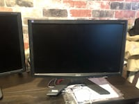 Black and gray hp flat screen computer monitor Toronto, M1N 1N8