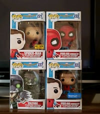 Spider-Man Homecoming POP FUNKO set Vaughan, L4H 1S2