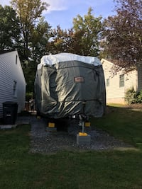 """RV Cover ADCO Trailer Designer Series tyvek plus wind(34847) 34-1"""" to 37"""" fit Aberdeen, 21001"""