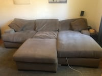 Big, Comfy Couch (free delivery on 8/17 only)
