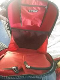 red and black leather bag Atascadero, 93422
