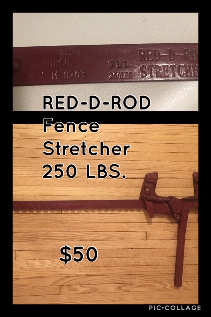 Fence Stretcher For Sale Only 3 Left At 70