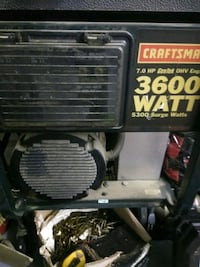 Craftsman gas generator Moreno Valley, 92555