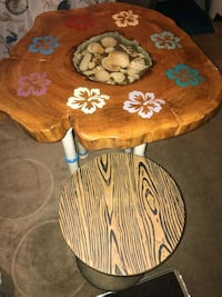 Nautical table and two bar stools  West Palm Beach, 33404