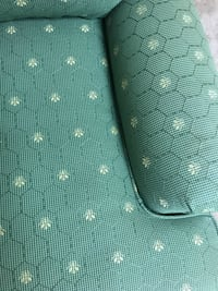 green and white polka dot sofa chair Brookeville, 20833