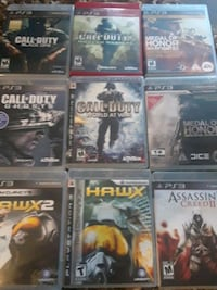 PS3 Games, Take All for $50 Port Coquitlam, V3B 2H8